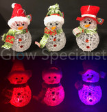 LED COLOR CHANGING SNEEUWPOP - 8x12CM - SET VAN 3