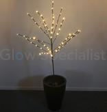 LED TREE WITH TIMER - 80 LED - WARM WHITE - 110 CM