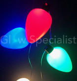 KNIPPERENDE LED KETTING MET 9 GEKLEURDE LAMPJES
