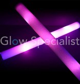 LED FLASHING FOAM STICK -  PINK
