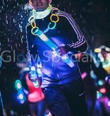 LED FLASHING FOAM STICK -  BLUE