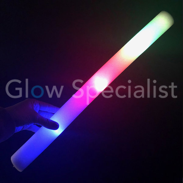 LED FOAM STICK -  SCHUIMSTAAF - MULTICOLOR