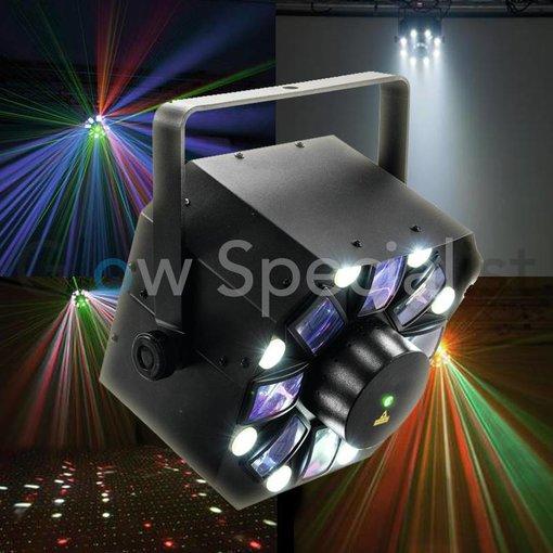 - Eurolite EUROLITE LED FE-1500 HYBRID LASER FLOWER