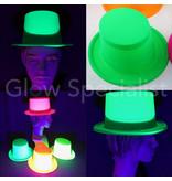 UV / BLACKLIGHT TOP HAT - NEON GREEN