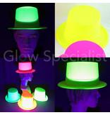 UV / BLACKLIGHT TOP HAT - NEON YELLOW