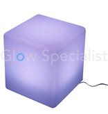 LED KUBUS - COLOR CHANGING MET ACCU EN AFSTANDBEDIENING - 30x30x30CM