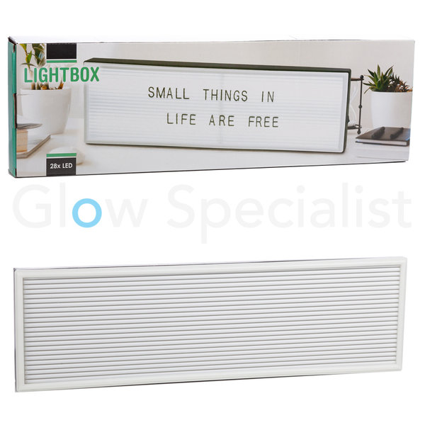 LED LIGHTBOX LETTERBORD - 50 CM