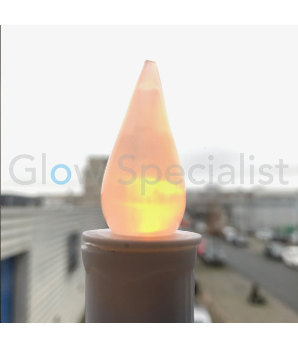 LED CANDLE WITH SUCTION CUP - WARM WHITE