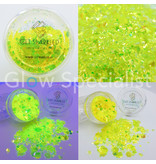 GET SPARKLED MOON GLOW YELLOW CHUNKY GLITTER MIX