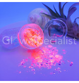 GET SPARKLED MOON GLOW PINK CHUNKY GLITTER MIX - Glow Specialist