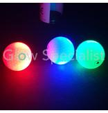 LED GOLFBAL - KOKER MET 3 STUKS - TE ACTIVEREN MET SMARTPHONE FLASHLIGHT