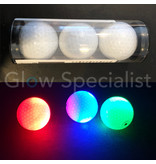 LED GOLFBAL - SET OF 3 - USE YOUR SMARTPHONE AS REMOTE