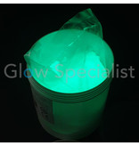 GLOW IN THE DARK PIGMENT - 1 KG - WATER COATED - GREEN