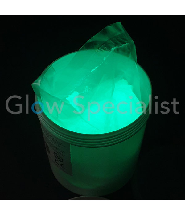 GLOW IN THE DARK PIGMENT - 1 KG - WATER COATED - GROEN