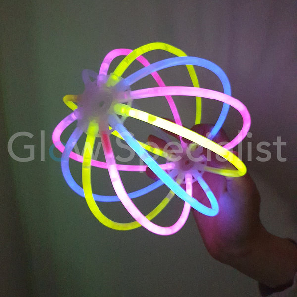 GLOW BALL / FLOWER CONNECTORS - SET OF 2
