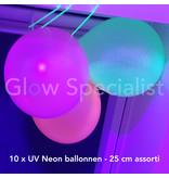 NEON VERJAARDAGSPAKKET - BASIS - UV / BLACKLIGHT