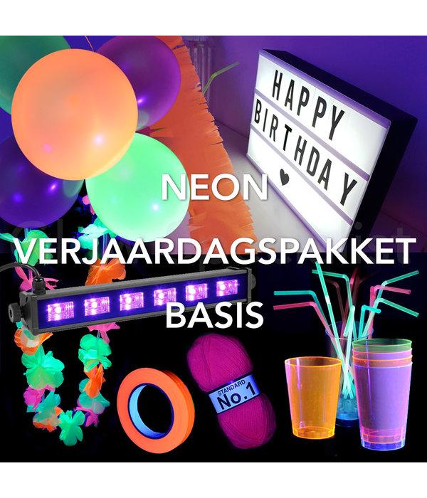 NEON BIRTHDAY PACKAGE - BASE - UV / BLACKLIGHT