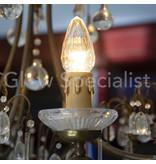 Firelamp FIRELAMP™ DIAMANT LAMP -  E14/E27 - 2 WATT - DIMBAAR