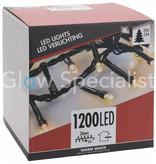 LED CLUSTERVERLICHTING - 1200 LAMPJES - WARM WIT -  36M