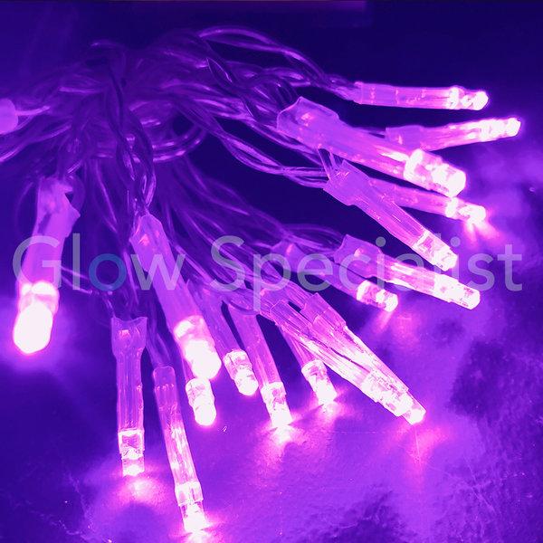 LED LIGHTS - 50 LIGHTS - PURPLE