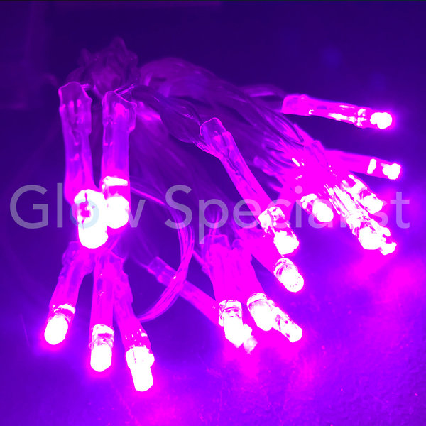 LED LIGHTS - 50 LAMPJES -  ROZE