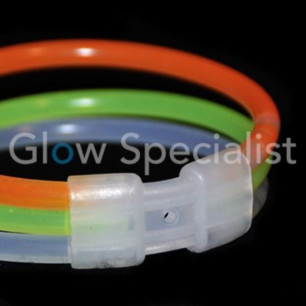 GLOW BRACELET TRIPLE CONNECTORS - 2 PIECES