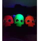 UV / BLACKLIGHT SKELETON MASK - 3 COLORS
