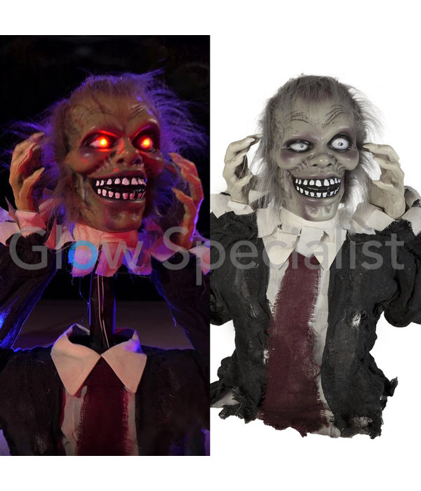 Europalms HALLOWEEN ZOMBIE THEO -  WITH LIGHT AND SOUND - 67 CM