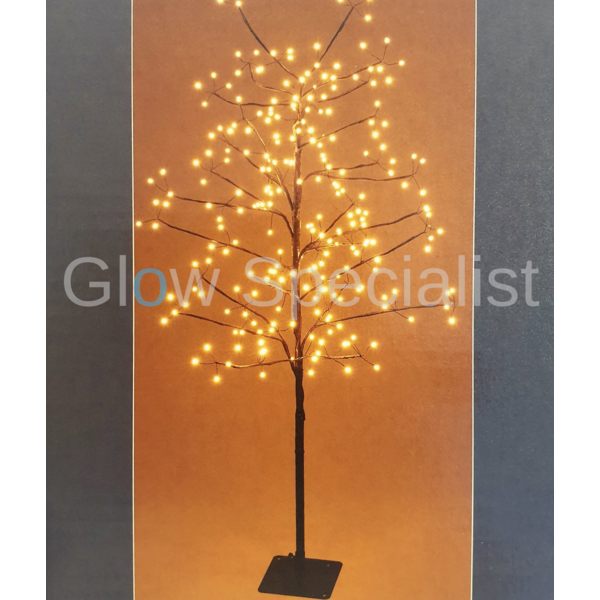 WINTER TREE WITH 240 LED - WARM WHITE - 120 CM - WITH TIMER