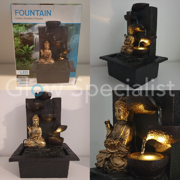 BUDDHA FOUNTAIN - LED