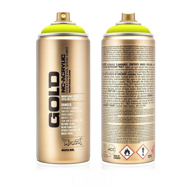 MONTANA GOLD - FLASH YELLOW - 400 ML