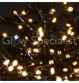 LED CLUSTERVERLICHTING - 3000 LAMPJES - WIT & WARM WIT - MET 8 LICHTFUNCTIES