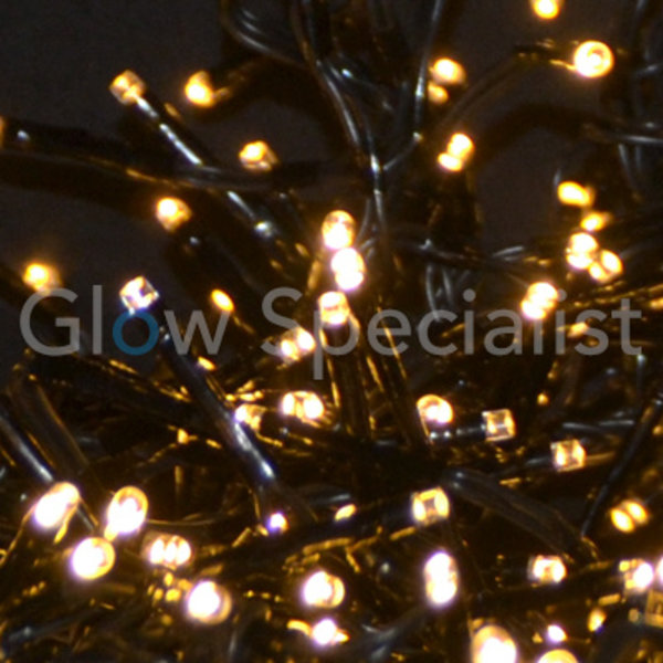 LED CLUSTER LIGHTING - 3000 LIGHTS - WHITE & WARM WHITE - WITH 8 LIGHT FUNCTIONS