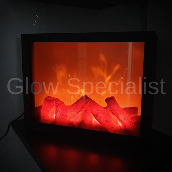 LED FIREPLACE - 29 X 23 CM