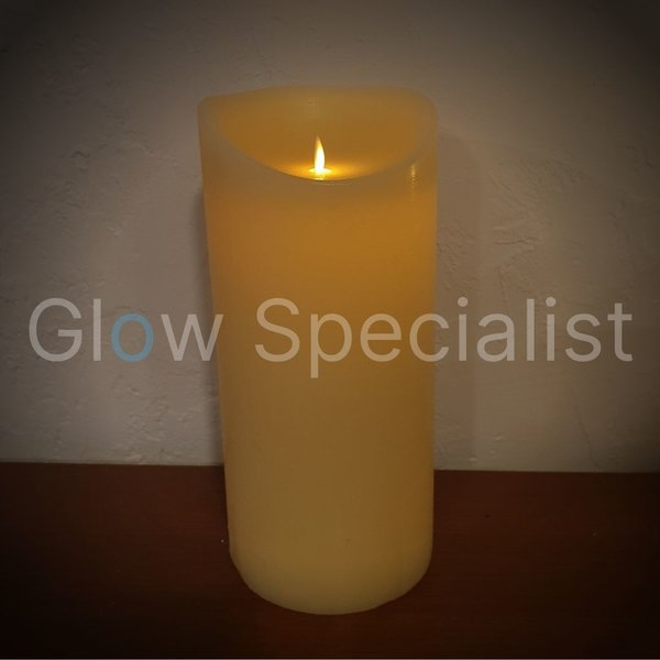 MOVINFLAME XL LED CANDLE - WITH REMOTE CONTROL - 33CM