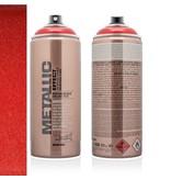 Montana Cans MONTANA METALLIC EFFECT SPRAY  - RED EMC3020 - 400ML