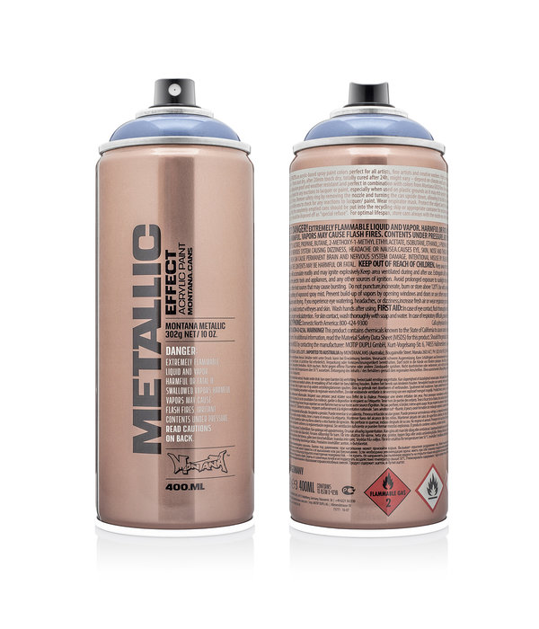 Montana Cans MONTANA METALLIC EFFECT SPRAY  - ICE BLUE EMC5030 - 400ML