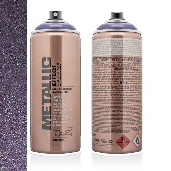 MONTANA METALLIC EFFECT SPRAY - PLUM - 400ML