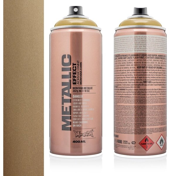 MONTANA METALLIC EFFECT SPRAY - AZTEC GOLD - 400ML