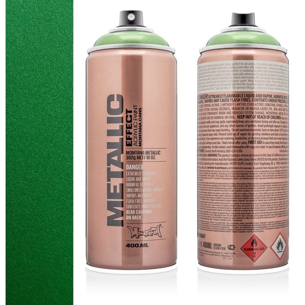 MONTANA METALLIC EFFECT SPRAY - AVOCADO GREEN - 400ML
