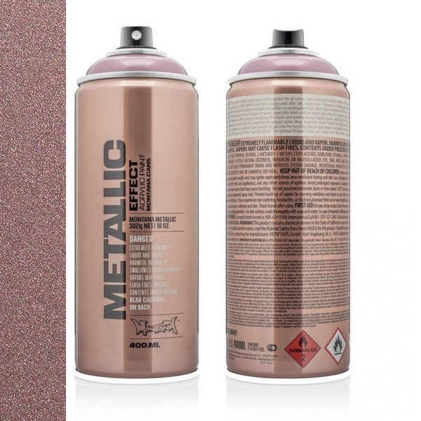 MONTANA METALLIC EFFECT SPRAY - ROSÉ - 400ML