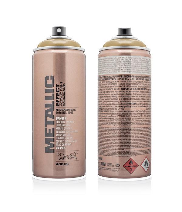 Montana Cans MONTANA METALLIC EFFECT SPRAY - GOLD EMC1050 - 400ML
