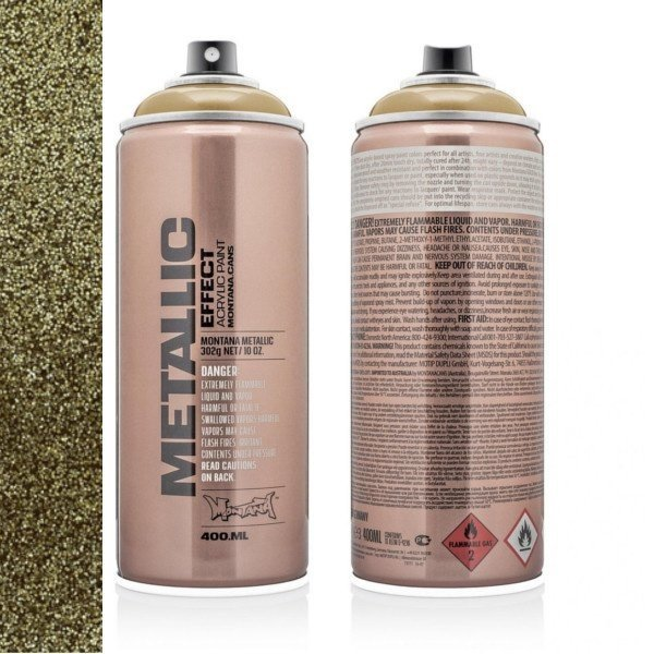 MONTANA METALLIC EFFECT SPRAY - GOLD - 400ML