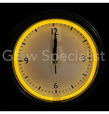 CLASSIC WALL CLOCK WITH LED LIGHTING - 4 COLORS