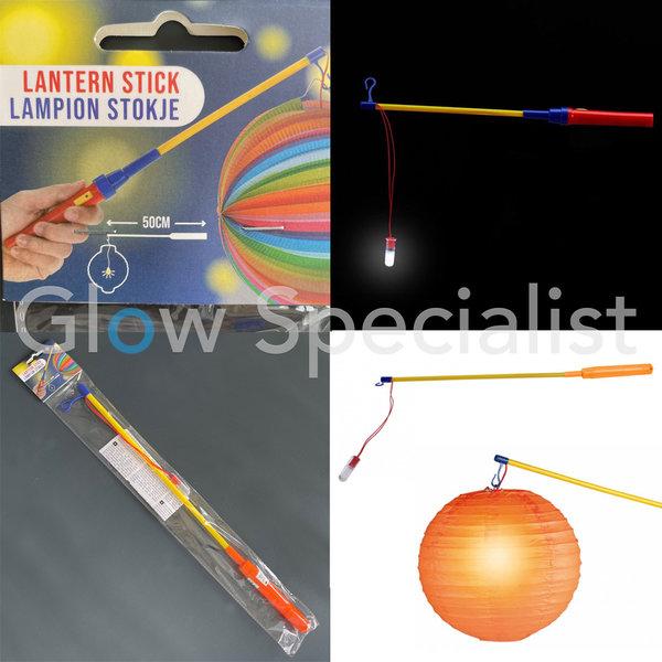 LAMPIONSTOKJE MET LAMPJE - 50 CM