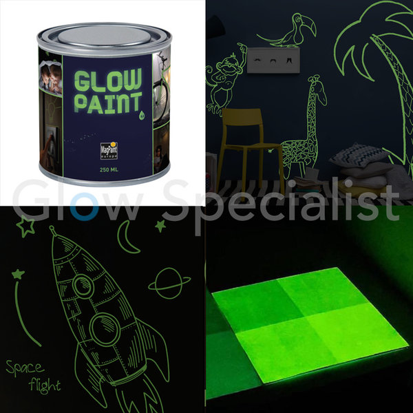 MAGPAINT GLOW IN THE DARK PAINT
