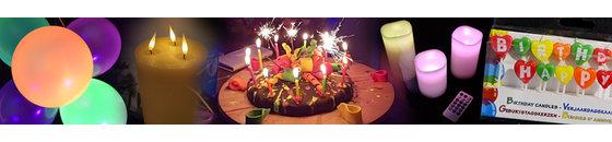 Kaarsen & ballonnen