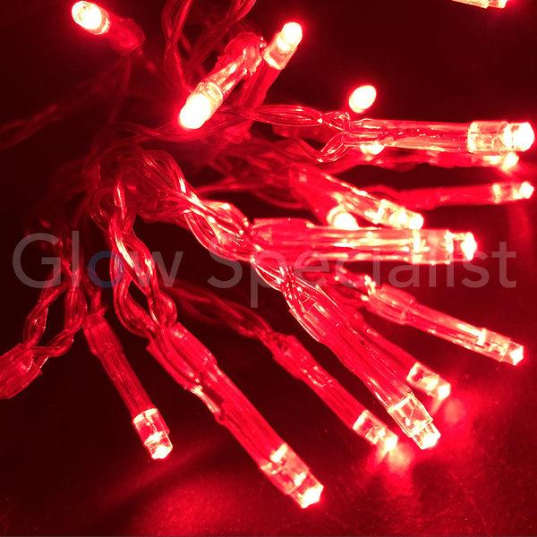 LED LIGHTS - 50 LIGHTS - RED