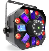BeamZ BeamZ Multi Acis IV - LED Derby effect with laser and strobe
