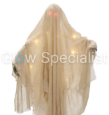 Europalms HALLOWEEN GHOST WITH RED LED EYES - 180 CM